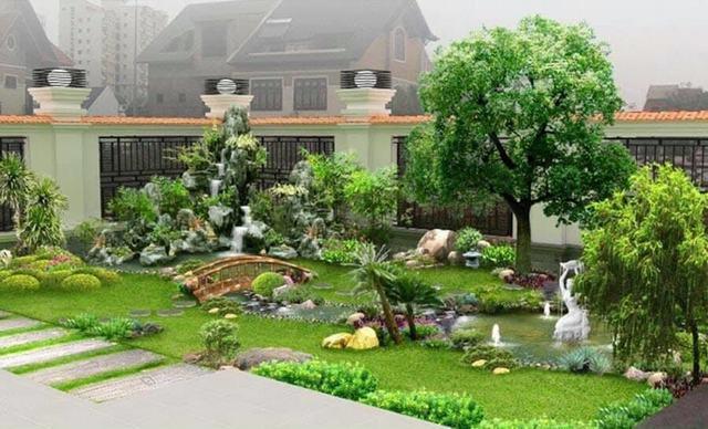 sân vườn mini đẹp