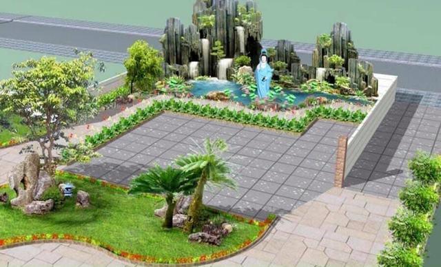 Tư vấn thiết kế sân vườn giá rẻ