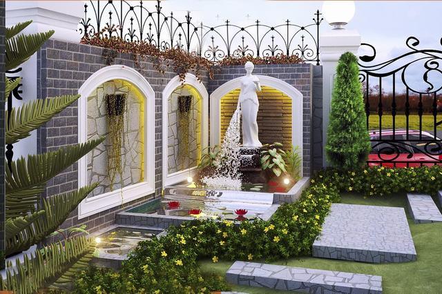 Thiết kế sân vườn tiểu cảnh nhỏ đẹp