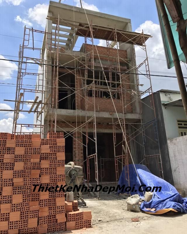 xây nhà phố tại Biên Hòa