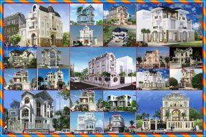 Mẫu nhà biệt thự 3 tầng đẹp nhất năm 2018