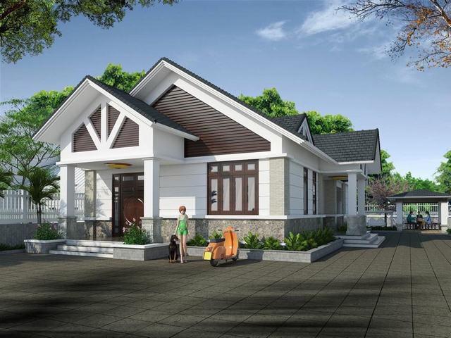Mô hình nhà kiểu Thái Lan