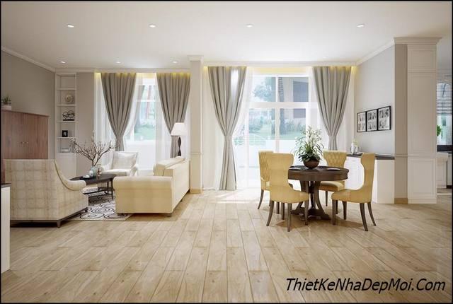 nội thất chung cư hiện đại 60m2