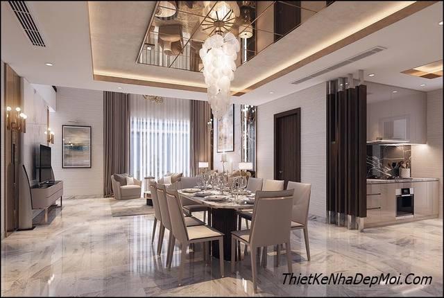 KTS thiết kế nội thất biệt thự phong cách hiện đại 2020