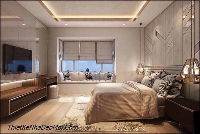 nội thất phong cách hiện đại 2020 phòng ngủ