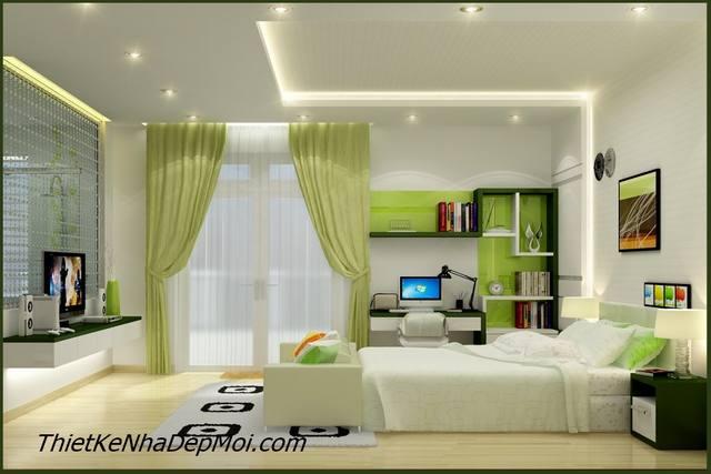 Cách trang trí nội thất phòng ngủ đẹp cho bé
