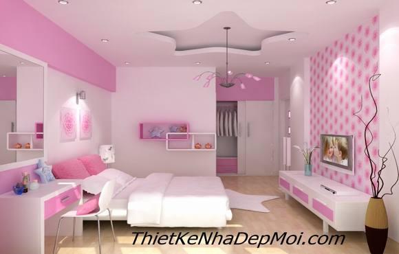 Phòng ngủ con gái khởi my