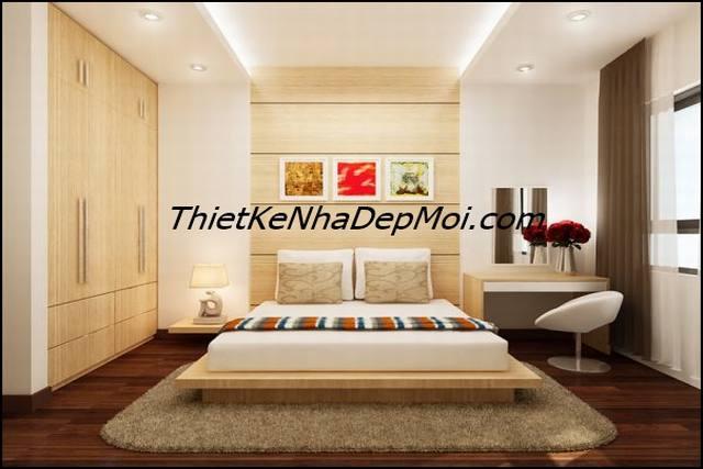 phòng ngủ dơn giản mà đẹp