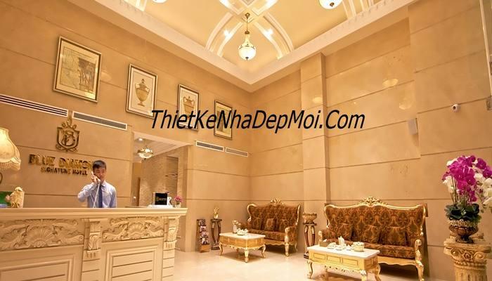 thiết kế thi công nội thất tân cổ điển khách sạn