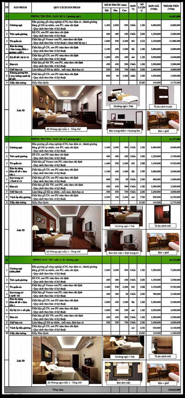 Báo giá thiết kế thi công khách sạn hoàn thiện