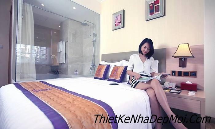 nội thất phòng ngủ khách sạn đẹp