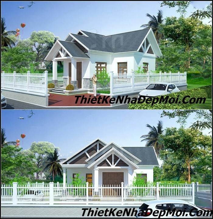 Thiết kế nhà mái thái cấp 4