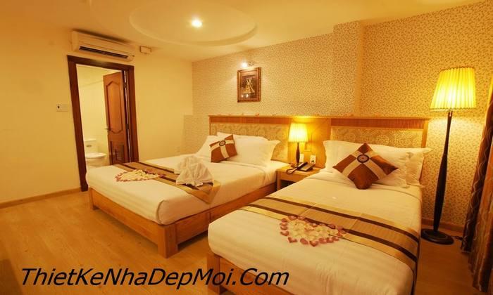 hình ảnh phòng ngủ khách sạn đẹp