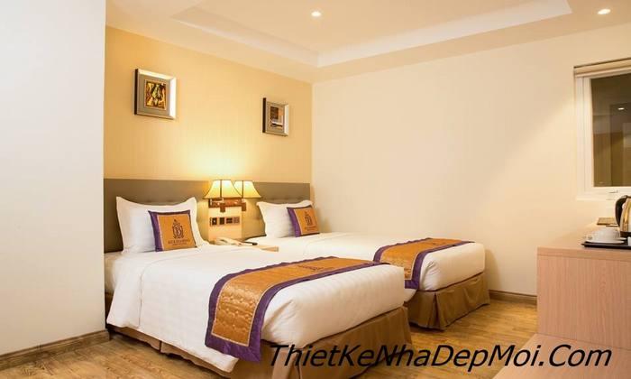 phòng ngủ khách sạn 26m2