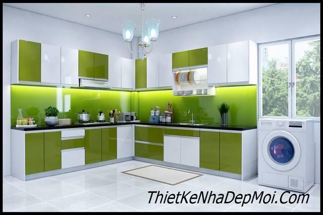 Mẫu nhà bếp đẹp đơn giản hiện đại
