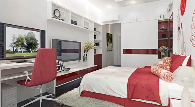 Nội thất phòng ngủ 14m2