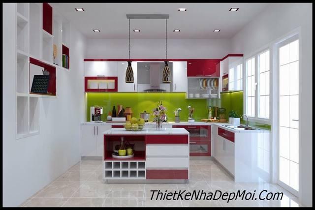 Thiết kế nhà bếp đẹp và hiện đại