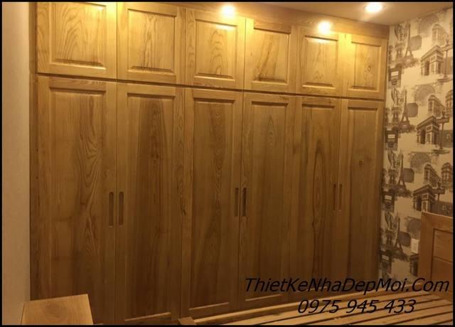 Đồ gỗ thi công nội thất chung cư