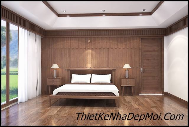 phòng ngủ nội thất đơn giản