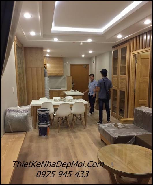 nội thất căn hộ mini 70m2