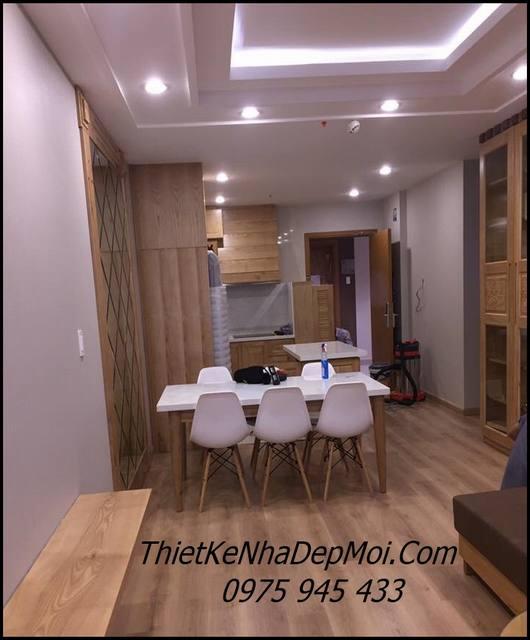 thiết kế căn hộ 2 phòng ngủ 70m2