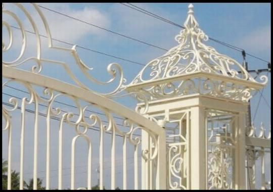 Mẫu trụ cổng sắt đẹp