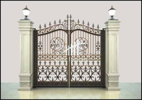 cổng hai cánh đẹp