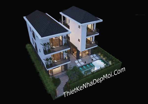 Thiết kế homestey mini hiện đại