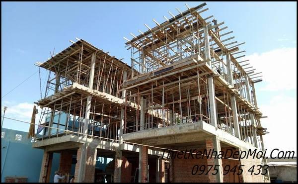 xây nhà biệt thự giá rẻ