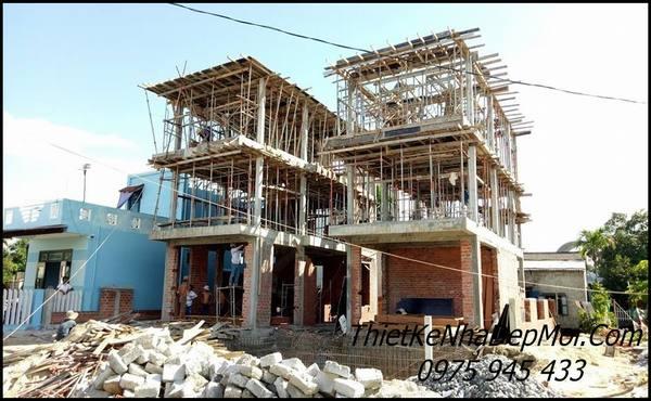 Hình ảnh xây biệt thự 3 tầng