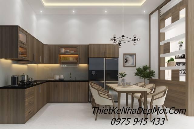 Nội thất phòng bếp đẹp hiện đại đơn giản