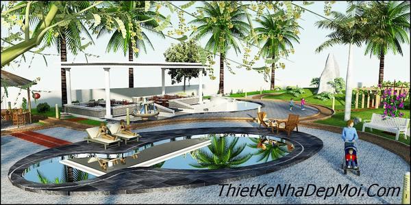 Không gian nhà vườn đẹp