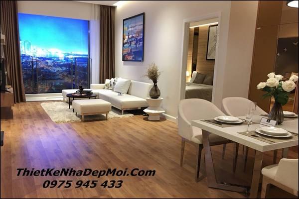Căn hộ 100m2 nội thất sang trọng với thiết kế thông minh