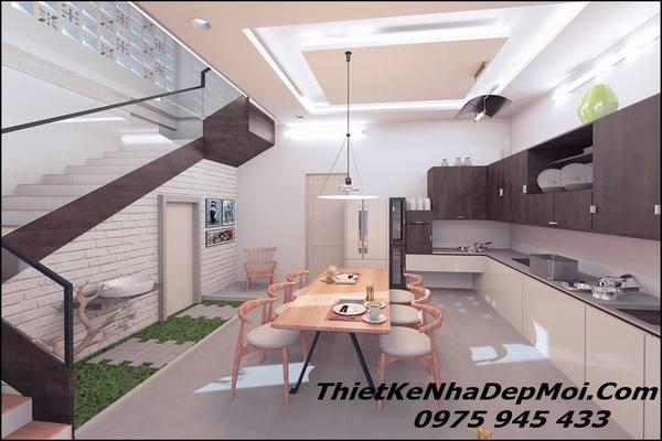 Thiết kế nhà hiện đại có 2 mặt tiền 2021