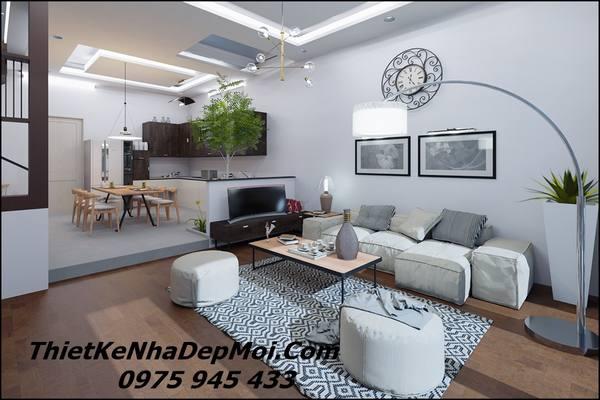 Nội thất nhà 2 tầng đơn giàn 2021