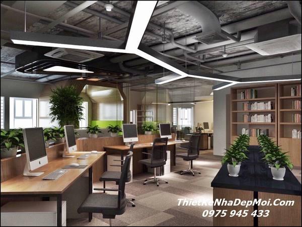 Nội thất văn phòng đẹp 2018