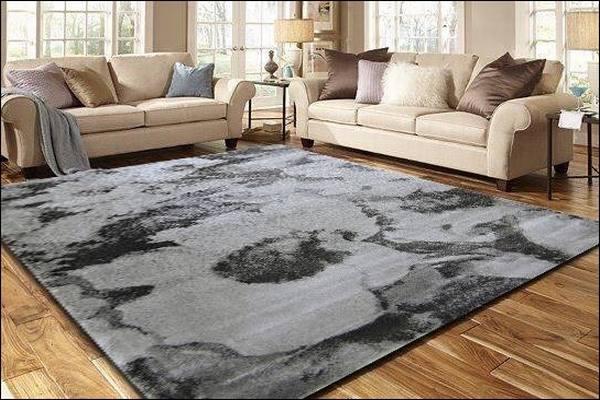 Thảm lông sàn nhà phòng khách
