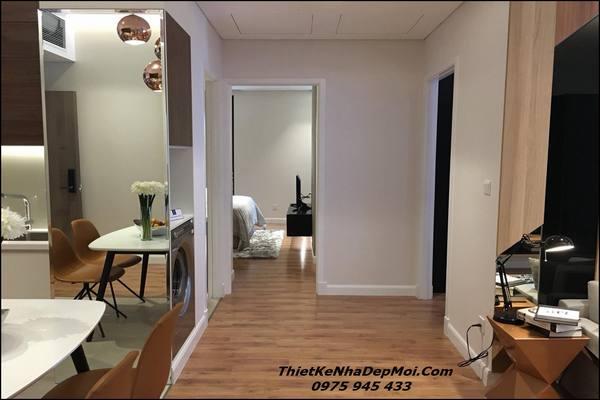 Không gian nội thất chung cư 100m2