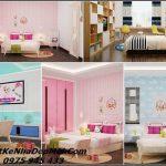 Phòng ngủ cho bé trai và gái