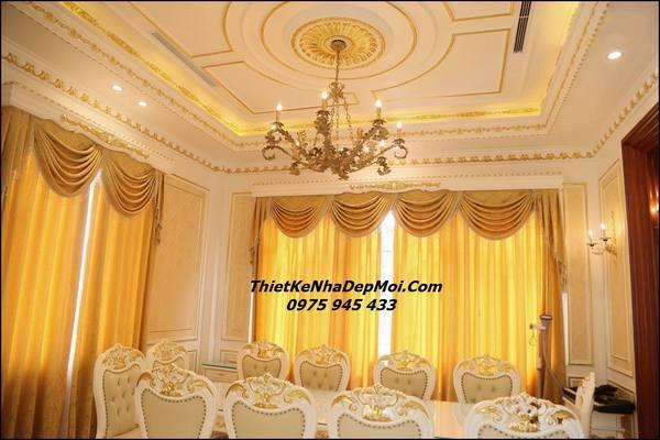 Thiết kế trần nhà đẹp 100k/m2