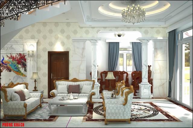Biệt thự đẹp nội thất sang trọng