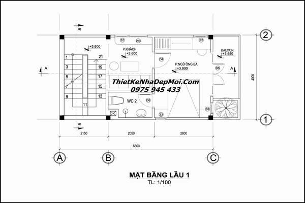 Cách thiết kế nhà nhỏ 30m2