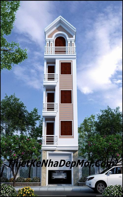 Nhà nhỏ đẹp 40m2 4 phòng ngủ