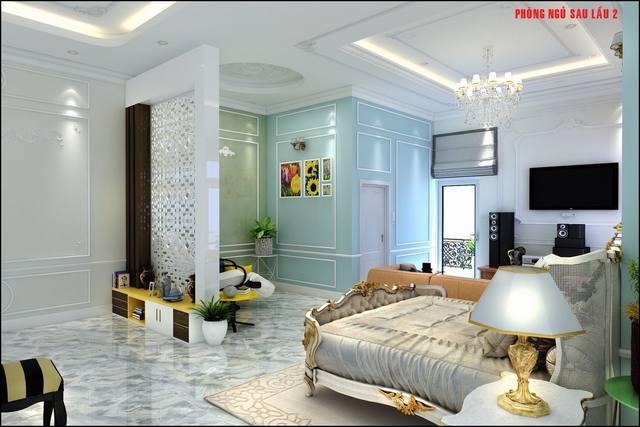 Nội thất phòng ngủ cổ điển đẹp