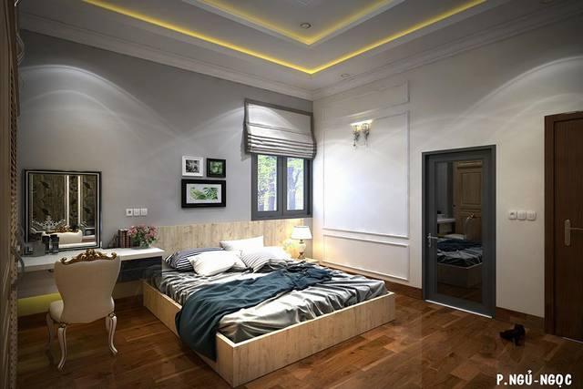 Không gian phòng ngủ đơn giản mà đẹp 2018