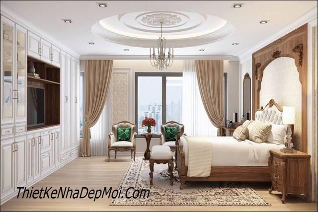 nội thất cổ điển phong cách hoàng gia