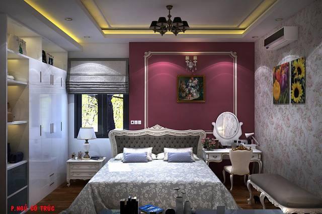 Thiết kế phòng ngủ đẹp diện tích 16m2
