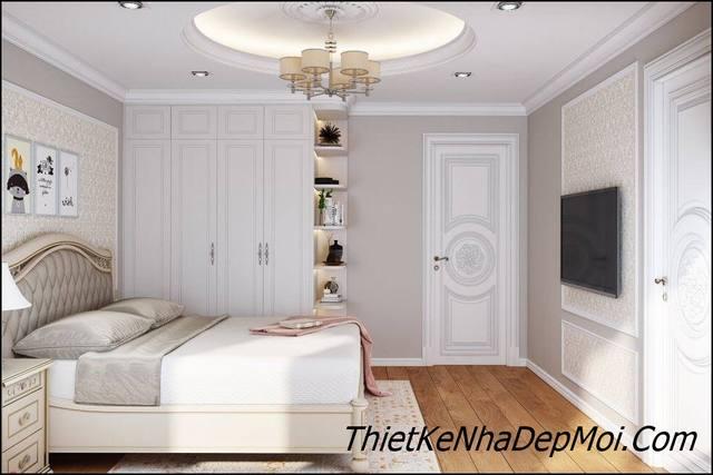 Trang trí phòng ngủ cổ điển châu âu