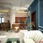 Phòng khách đẹp 25m2