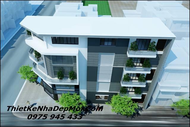 Thiết kế nhà ở kết hợp văn phòng tại nhà